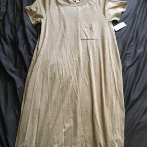 Peach Carly Dress LuLaRoe